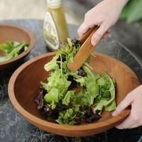 Large Wooden Salad Bowl | NH Bowl and Board | New Hampshire Bowl and Board