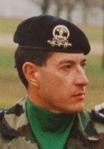 75e Le Colonel Bertrand Ballarin, chef de corps du 2e Régiment de Hussards 1997-1999