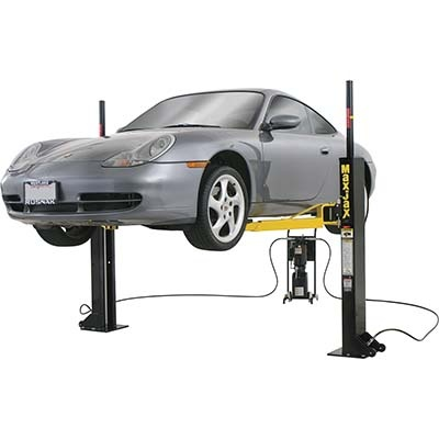 Dannmar MaxJax Portable Auto Lift — 2-Post System. Whenever I get my house, I'm INVESTING in this!