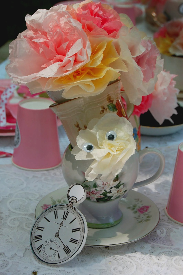 The 71 best Mad hatters tea party images on Pinterest | Mad hatters ...