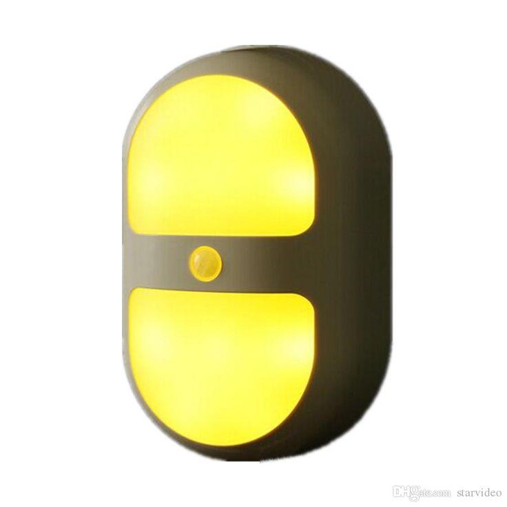 2016 Carola Motion Sensor Led Light Night Light Motion Sensor Light Warm Ambient Light For Home,Kitchen Yellow From Starvideo, $7.54 | Dhgate.Com