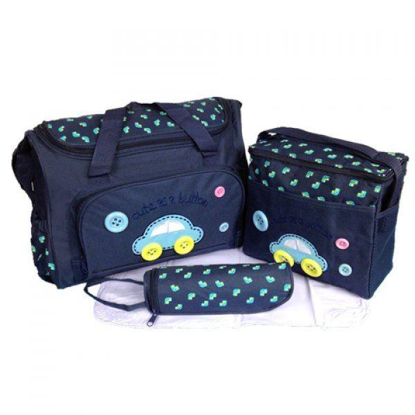 $21.13 Stylish Car Pattern and Printed Design Women's Diaper Bag