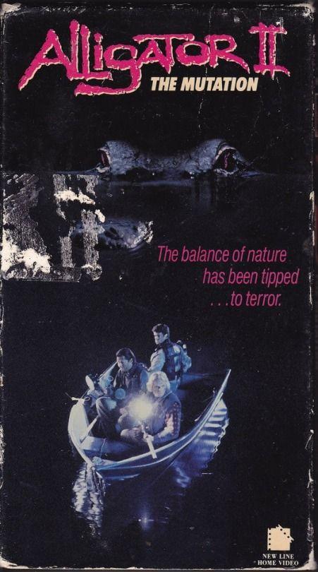 Alligator II: The Mutation (1991)  Dir. Jon Hess   Joseph Bologna, Dee Wallace, Richard Lynch