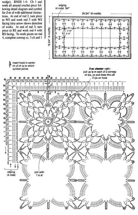 94 best hekling images on pinterest crochet doilies doilies 2 of 2 crochet table runner ccuart Choice Image