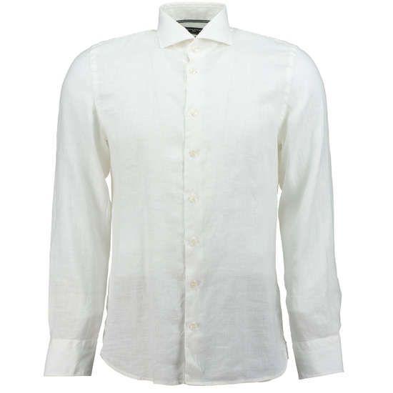 MARC O'POLO MR. Leinenhemd im Shaped-Fit ► Das Hemd SHARK COLLAR von MARC O'POLO ist aus purem Leinen hergestellt. Das edle, sommerliche Material ist im figurbetonten Shaped-Fit geschnitten und gilt saisonübergreifend als Klassiker der Herrengarderobe.