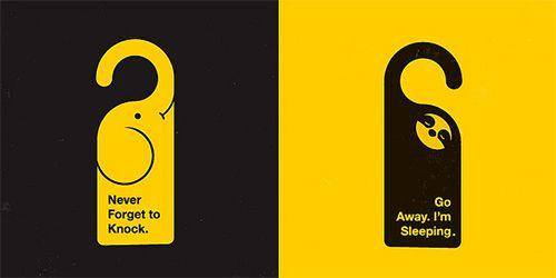 35 best Customized Door Hangers images on Pinterest Door hangers