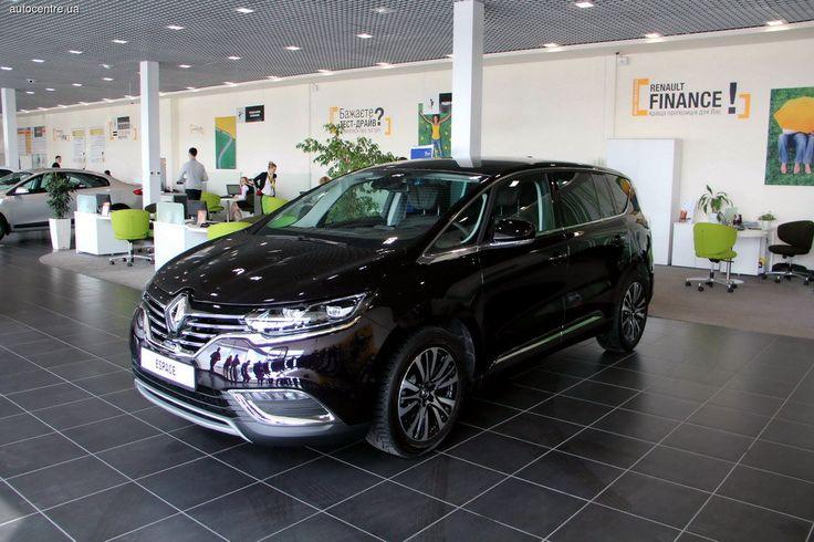 Renault презентовал в Украине «космический корабль»