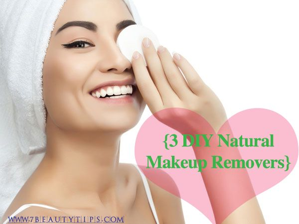 3 DIY Natural Makeup Removers