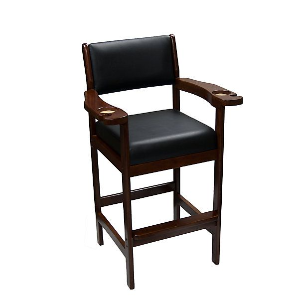 This Saron Spectator Chair Sits High For The Perfect View Of A Billiard  Game. Equipped With Cup Holders, Cue Slots U0026 Arm Rests. Order This Quality  Chair ...