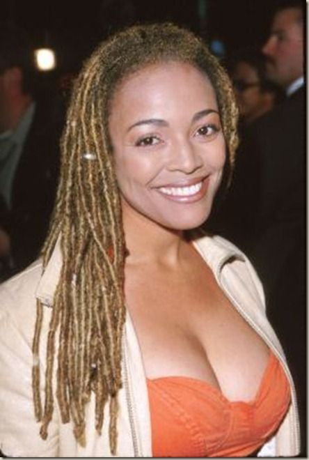 Kim Fields the daughter of actress Chip Fields got her - Black Celebrity Hairstyles