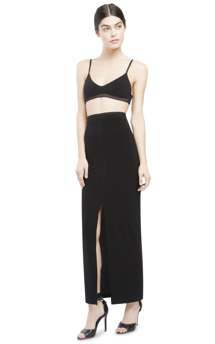 FRONT SLIT ANKLE LENGTH SKIRT! Mine