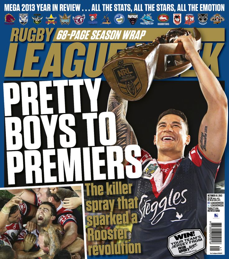 Sonny joined the Sydney Roosters in 2013. From one of the worst teams they became champions in just one year!