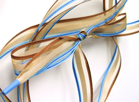 A Bit of Blue...Shoelaces & TieOn by LostInLaceBoutique on Etsy, $6.00