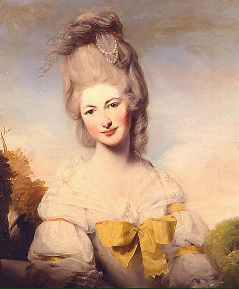 1780 (published) Lady Elizabeth Compton by Matthew William Peters (Pyms Gallery)