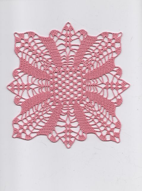 #crochet doily - free pattern.  This is listed as a doily, but I think it would be a nice motif to make a blouse out of.