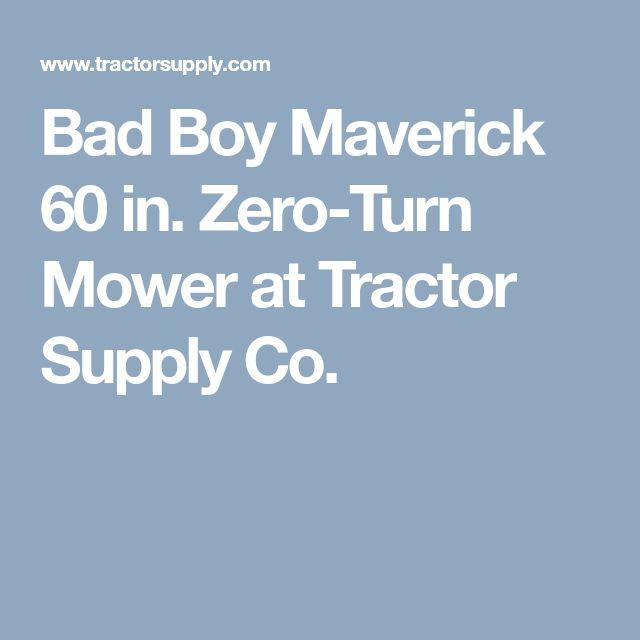 Bad Boy Maverick 60 in. Zero-Turn Mower at Tractor Supply Co.