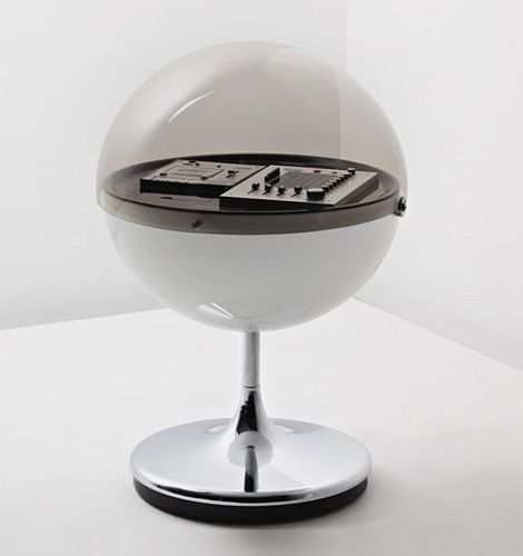 vision 2000 stereophonic hi-fi system - designed by thilo oerke and manufactured by rosita tonmöbel, Germany, early 1970s