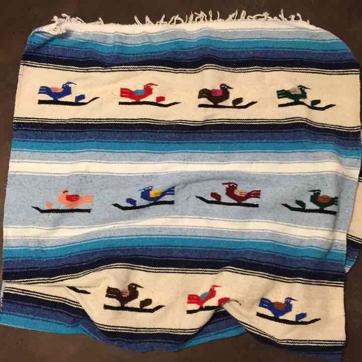 Authentic Native Aztec Boho Throw - Mercari: Anyone can buy & sell