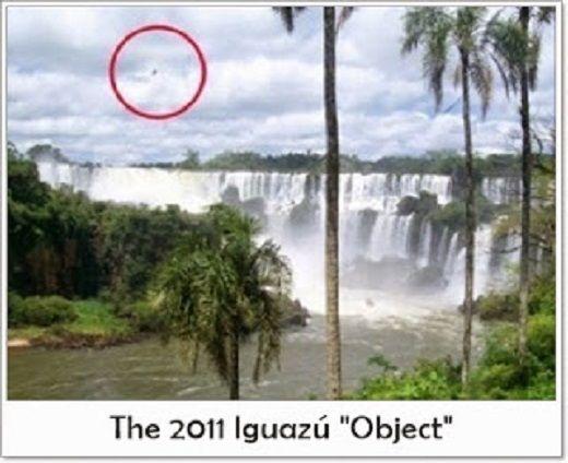 OVNI / UFO é filmado nas Cataratas do Iguaçu por guarda florestal - OVNI Hoje!...