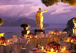divine 5 star luxury hotel terrace. perfect for a wedding reception under the stars