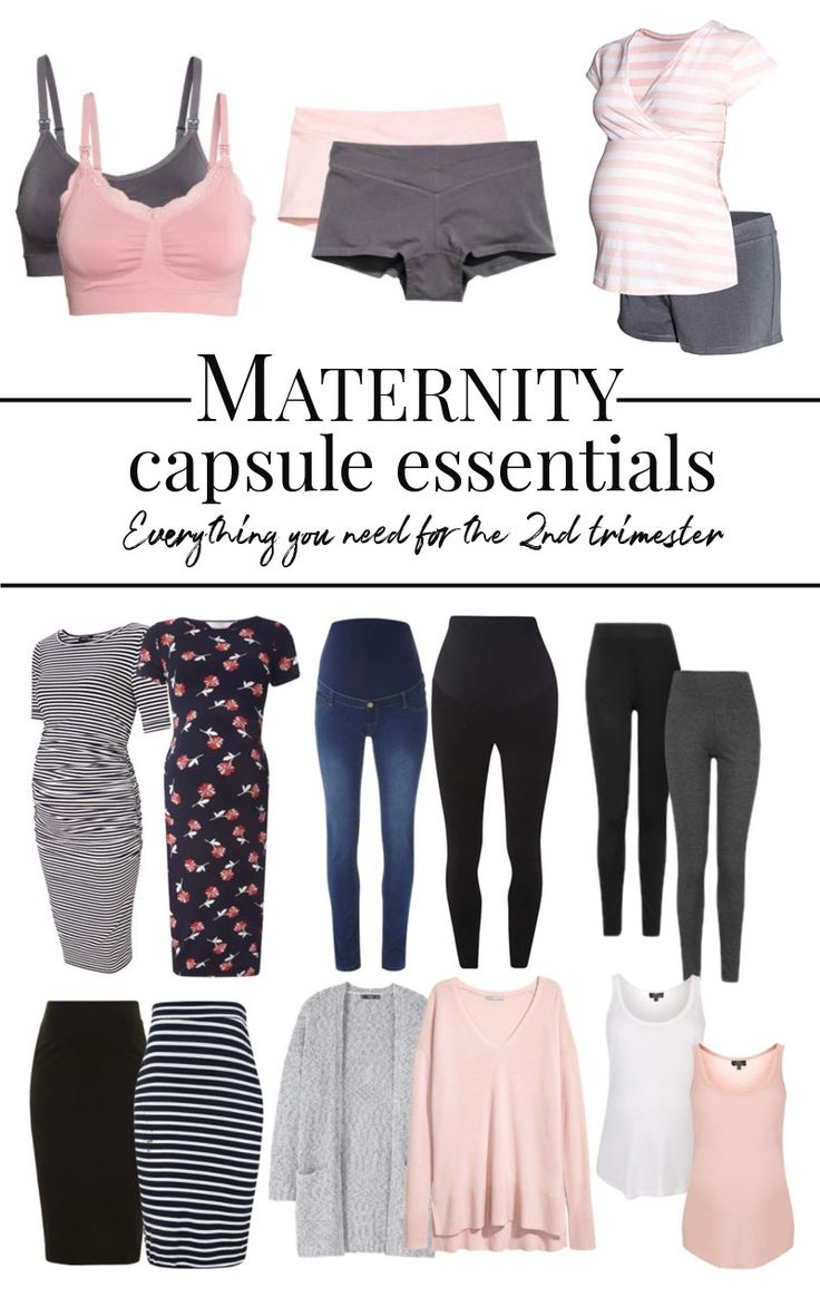 maternity essentials: a small capsule wardrobe for pregnancy and beyond