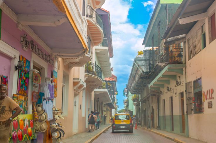 Side street in Old Town Panama City