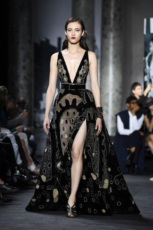 Elie Saab : - Haute Couture Fall/Winter 2016-2017 - Eu capitu Blog
