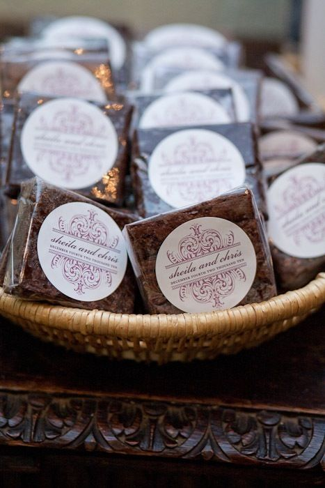 brownie favors More