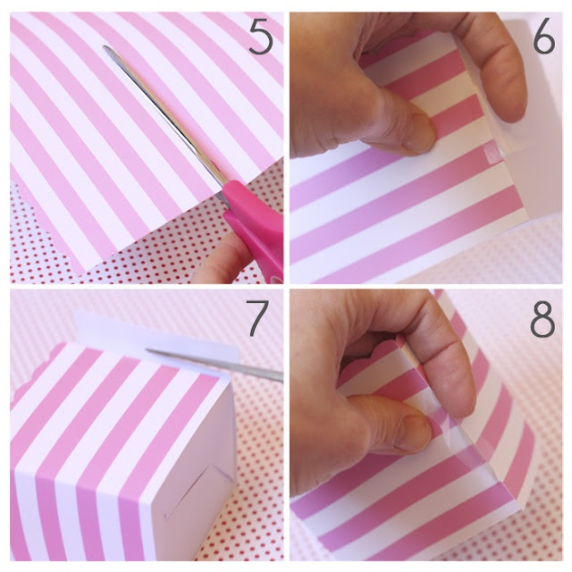 Treat Box Tutorial for Parties
