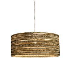Hanglamp Carton Drum  - 91590