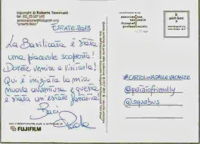 La cartolina a metà tra il reale e il virtuale di Paola - Viaggi e Delizie