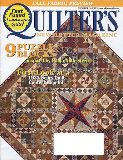 Quilters 385 sept/oct 2006 summer rentals bom part 2