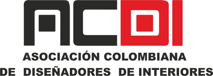 ACDI ASOCIACIÓN COLOMBIANA DE DISEÑADORES DE INTERIORES. LOGOTIPO