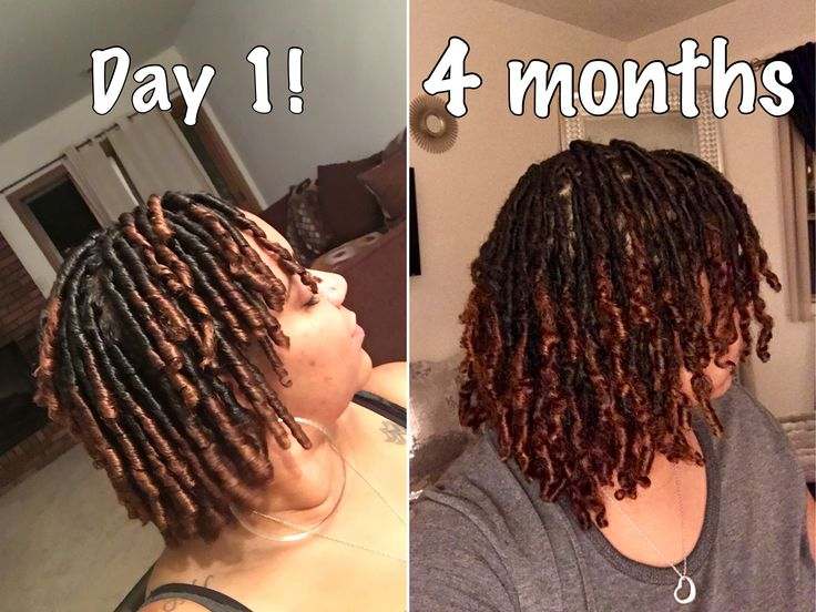 My Locs!! Day 1 Comb Coils VS. Currently 4 Months Loc'd
