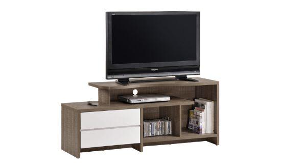 Έπιπλο TV LIFE 2 Συρτάρια-ΕΜ377  Έπιπλο TV για όλους τους χώρους και όλα τα γούστα Διατίθεται σε απόχρωση Καρυδί Δρύς με Λευκό Διαστάσεις: 120x47x58 cm Σε περίπτωση διαθέσιμου στοκ η παράδοση είναι άμεση. Ενημερωθείτε για την διαθεσιμότητα των προϊόντων.