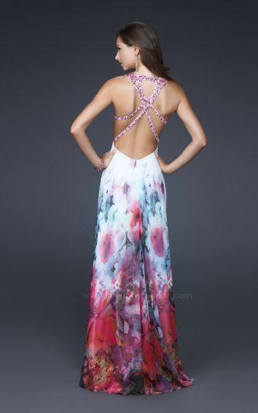 (Foto 6 de 34) Vestidos de Fiesta 2011 La Femme Fashion., Galeria de fotos de ¡Vestidos estampados que harán que sueñes en colores!