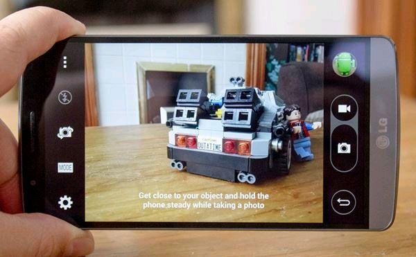 8 thủ thuật để sử dụng tốt nhất camera của G3 - ảnh 4 Chuyển đổi các chế độ chụp