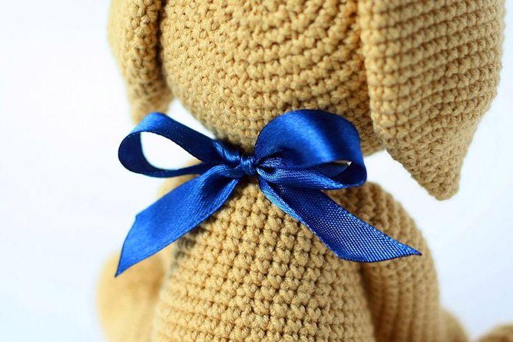 Crochet lucky puppy amigurumi pattern