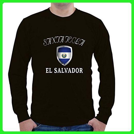 EL SALVADOR SANTA TECLA Unisex Long Sleeve Shirt - Holiday and seasonal shirts (*Amazon Partner-Link)