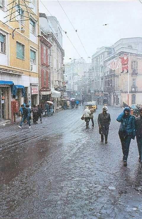 Via Garibaldi - La.neve del 1985