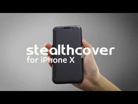 StealthCover for iPhone X - Slim Folio-style 360 Degree Protection
