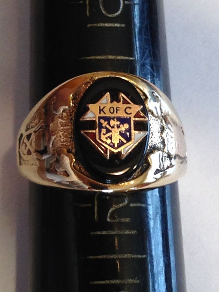 Details About Fraternal 10k Solid Yellow Gold Knights Of