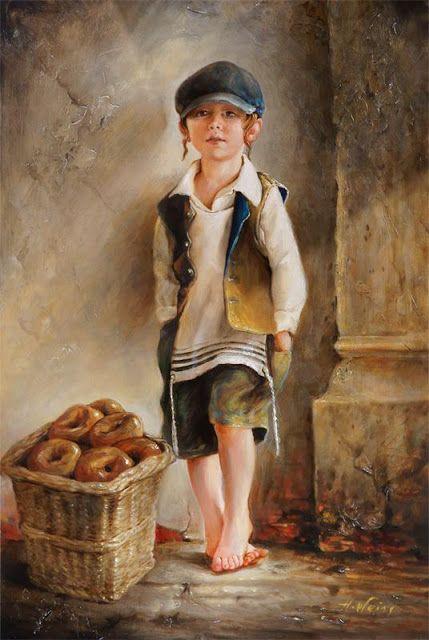 H.Weiss - Jewish child