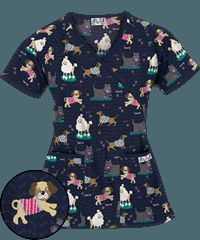 Print Scrub Tops, Discount Scrub Tops and Hospital Scrubs at Uniform Advantage