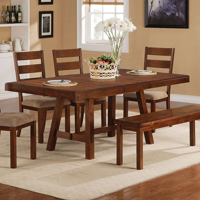 rustic farmhouse dining room tables ethan rustic trestle table with