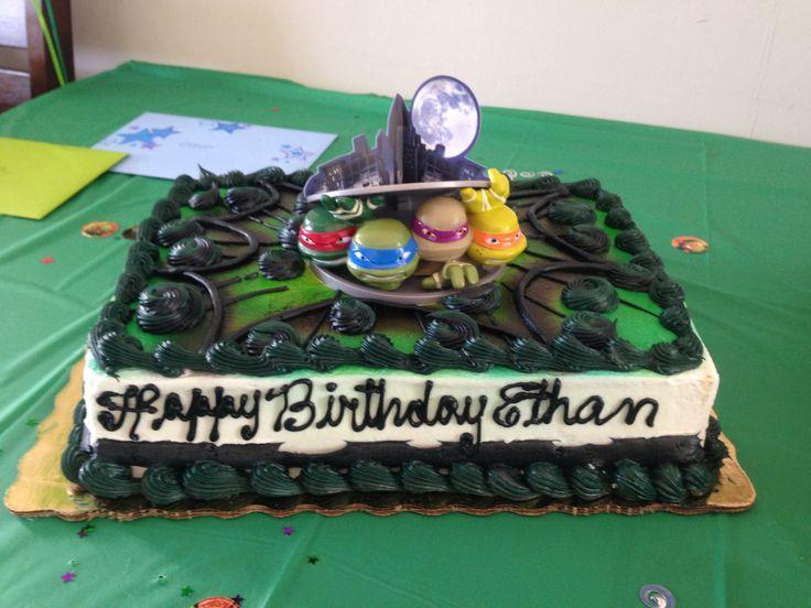 Walmart Bakery Ninja Turtle Cake