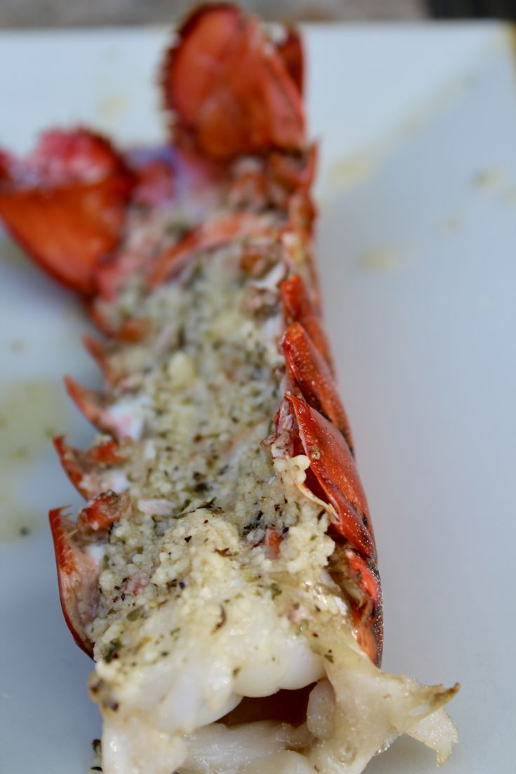 Garlic Parmesan Topped Baked Lobster Tails - Powered by @ultimaterecipe
