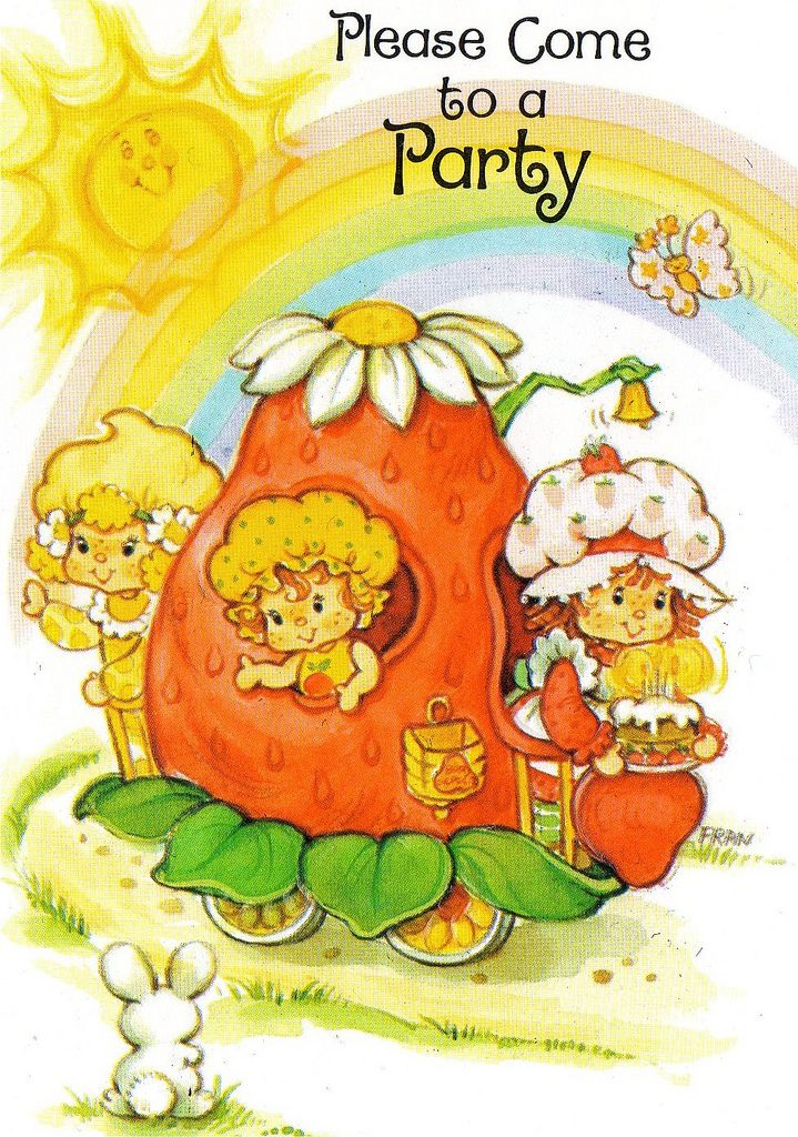It's a Strawberry Shortcake party!