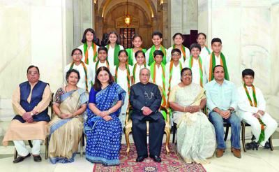 On International Students Day we congratulate Ms. Zuleika Juliet Antao, a student from Goa who recently received an award from the President of India, Shri Pranab Mukherjee, at Rashtrapati Bhavan, New-Delhi. Zuleika was recognised and rewarded for her outstanding achievement in the field of Innovation, as she created a path-breaking bio-converting composting unit. Zuleika's dedication serves as an inspiration for Students in Goa and the rest of the country. #InternationalStudentsDay…