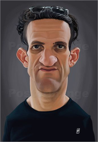 Rob Snow | caricatures - Casey Neistat art | decor | wall art | inspiration | caricature | home decor | idea | humor | gifts
